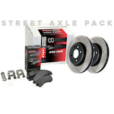 STOPTECH Performance Brake Rotors+Pads Kit for Honda 06-11 Civic Si 937.40005