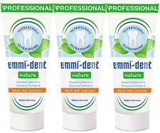 Emmi-dent Zahncreme nature Calcium 3er Pack