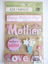 K&Co Grand Adhesions Stickers - Mother
