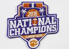 LOT OF (1) NCAA 2016 FOOTBALL NATIONAL CHAMPIONS CLEMSON TIGERS PATCH ITEM #133