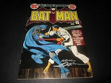 BATMAN #243 SIGNED BY NEAL ADAMS WITH COA FROM MY STORE SWORD OF TRUTH COMICS!