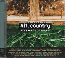 CD album: The best of Alt. Country. Exposed Roots. K-Tel. A2