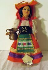Vintage Magis Roma Doll Made In Italy 6 inches