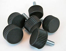 6X Thumbscrew Grip Knobs M6 x 20mm Wing Nut Bolt  Saw Drill Router Camera Audio