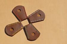 Brauner extremos protección de cuero para Lang arco o recurve