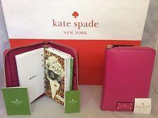 NWT Kate Spade Sweetheart Pink Wellesley 2017 Zip Around Personal Planner Agenda
