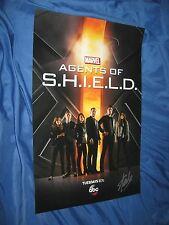 AGENTS OF SHIELD Signed Promo Poster by Stan Lee ~Avengers/Movie/Inhumans/NYCC