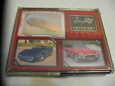 1991 Corvette Set Trading Cards In Deluxe Case W/ Hologram 110 Pictures Parts