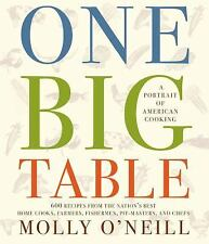 One Big Table: 600 recipes from the nation's best home cooks, farmers, fishermen