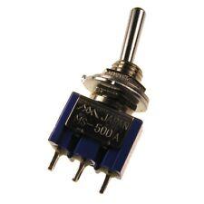 MIYAMA MS-500A Kippschalter 1-polig EIN-EIN Schalter 1xUM 6A 125V AC 090207