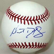 Matt Duffy Houston Astros Signed Autographed OMLB JSA Authenticated