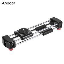 Andoer GT-V250 Slider Camera Video Slider 365mm Double Sliding Distance HOT N8D7