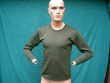 Vest THERMAL UNDERWEAR, manica lunga sotto camicia, olive, Tg. 100/medium, #1