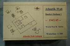 HP Models 1:700 Atlantik-Wall-Dioramen   -- Bunker-Stellung 2   -1942/45--