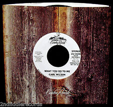 CARL WILSON-THE BEACH BOYS-What You Do To Me-Promo Only 45-CARIBOU #ZS4 03590