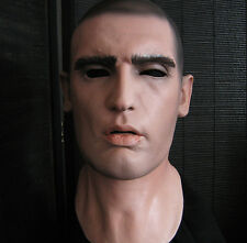 DOMINIC MASK - Realistische Latexmaske, Realistic Male Latex Männermaske Rubber