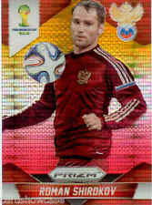 2014 World Cup Prizm Yellow Red Parallel No.165 R.SHIROKOV (RUSSIA)