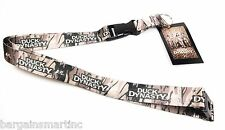 Duck Dynasty Lanyard Camo Detachable Quick Release Keychain Badge A&E Authentic