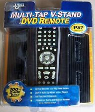 4 Player Adapter + DVD Remote + Vertical Stand for Large Fat PS2 Playstation 2