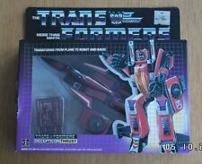 G1 Transformers Decepticon Seeker Thrust complete Still Factory sealed Rare MISB