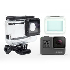 For GoPro Hero5 Waterproof 60m Diving Case+Touch Screen Backdoor+Aluminum Button