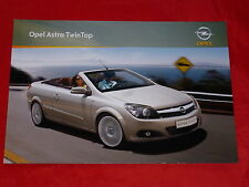 OPEL Astra H TwinTop Edition + Cosmo Prospekt von 2009