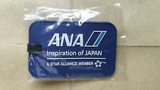 "ALL NIPPON AIRWAYS ""ANA"" Rubberized Luggage Tag"