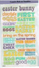 Reminisce - FC - Easter Scrapbooking Rub-on - Words