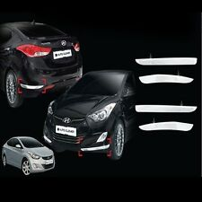 Chrome Bumper Moulding Cover 4p 1Set For 11 12 Hyundai Elantra