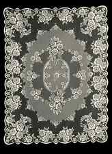 "Heritage Lace VICTORIAN ROSE Ecru Rectangle Tablecloth  60""x84"""