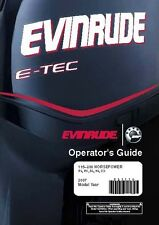 Evinrude Outboard Owners Manual 2007 E-TEC 115, 130, 150, 175 & 200 HP Model PX