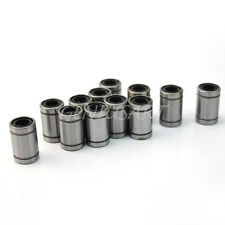 Hot LM8UU 12Pcs 0.8cm 8mm Linear Motion Ball Bearing Bushing Bush Top Quality