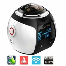 2448*2448 16M Ultra HD Panorama 360 Degree Video Panoramic Cameras 3D VR Camera