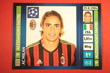 PANINI CHAMPIONS LEAGUE 2013/14 N. 578 MATRI MILAN BLACK BACK MINT!
