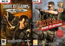 Jagged Alliance Back in Action Special Edition&Hired Guns Jagged Edge new&sealed