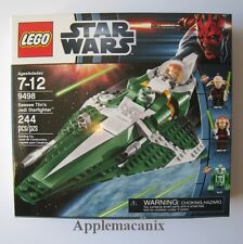 NEW - SEALED LEGO Star Wars 9498 Saesee Tiin`s Jedi StarFighter - #9498 Retired