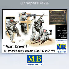 MASTER BOX 35170 - Man Down US Mod. Army M. East Present day 1:35 - MB35170 NEU!