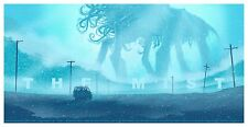 The Mist by Daniel Danger Mondo Movie Mystery Poster Rare Print Edition of 245