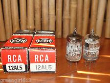 2 Vintage RCA 12AL5 Stereo Tubes