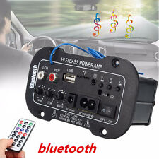 30W Bluetooth Car Subwoofer Hi-Fi Bass Amplifier Board MP3 Audio TF USB U flash