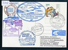 72708) LH/AA FF München - Basel Schweiz 3.9.2001, SP BP Packeis Eidfjord