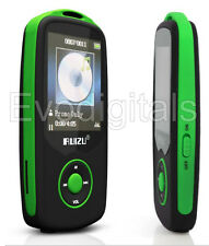 Green ruizu 20GB Bluetooth Deportes Lossless MP3 reproductor de MP4 Video Musical FM Sintonizador