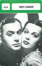 Hedy Lamarr  USA Productrice Inventrice  ACTRESS ACTRICE FICHE CINEMA