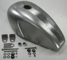 Vintage Cafe Racer Gas Tank WITH Mounting KIT Triumph BSA Norton Royal Enfield