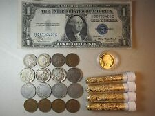 OLD COIN COLLECTION LOT JUNK DRAWER BUFFALO V NICKELS INDIAN HEAD WHEAT CENTS