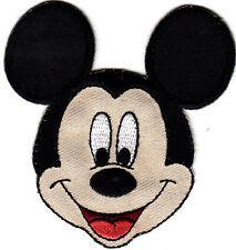 "DISNEY - MICKEY MOUSE FACE (3"") Simplicity Iron On Applique/TV, Movie, Cartoons"