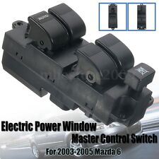 Electric Power Window Master Control Front Left Switch For 2003-2005 Mazda 6 NEW