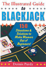 The Illustrated Guide To BLACKJACK By Dennis Purdy- New