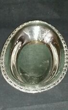 Silver Plated Oval Platter Serving Tray Camelot International Silver 6119