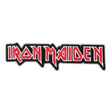 IRON MAIDEN Heavy Metal Rock Music Band Logo Embroidered Iron On Patch Punk Song